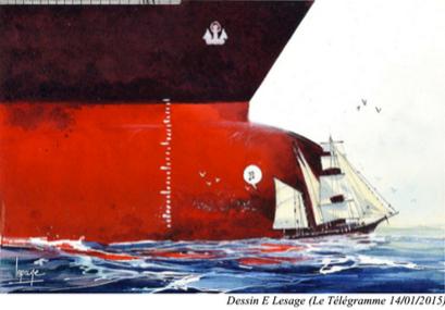 Séminaire sur le développement du transport fluvial et maritime et l'avenir du cabotage à voiles.