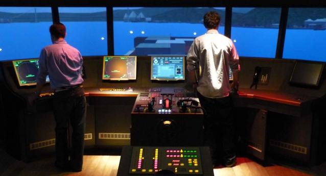 Visite à la station de Pilotage des pilotes de Loire le 3 Février 2015