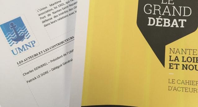 Le grand débat sur la Loire : Le cahier d'acteur rédigé par l'UMNP