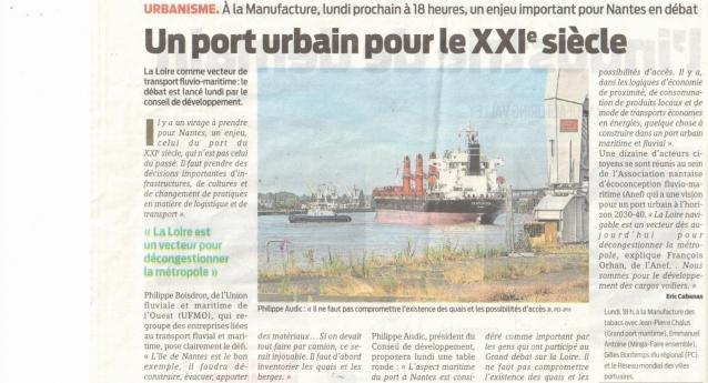 Un port urbain pour le XXIe siècle