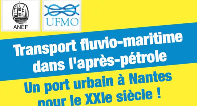 Transport fluvio-maritime dans l'après-pétrole