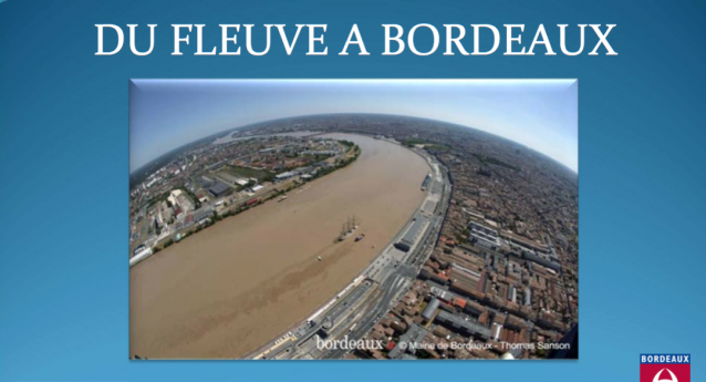Exemple Bordelais de schéma d'aménagement du fleuve