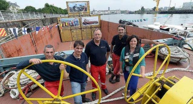 La CLT au coeur de Nantes lors des «Débords de Loire»