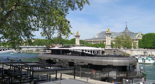 Le Flow, nouveau lieu parisien sur la Seine
