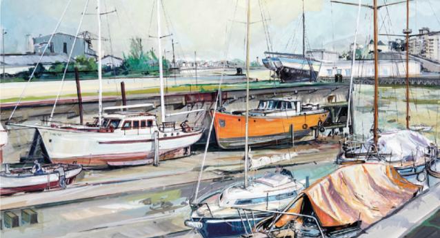 Terres d'estuaire, le nouveau beau livre d'art de Michel Tual
