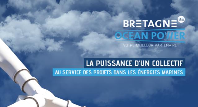 Journée Bretagne Ocean Power : EMR en Bretagne, réunion d'information